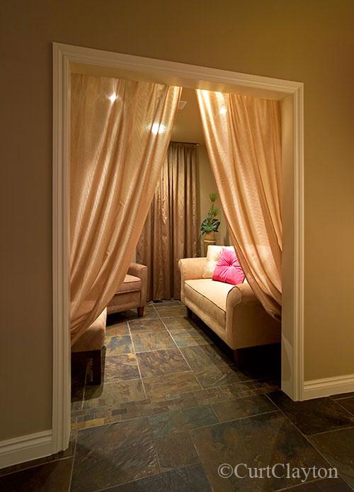Private lounge at Aviora Medical Spa
