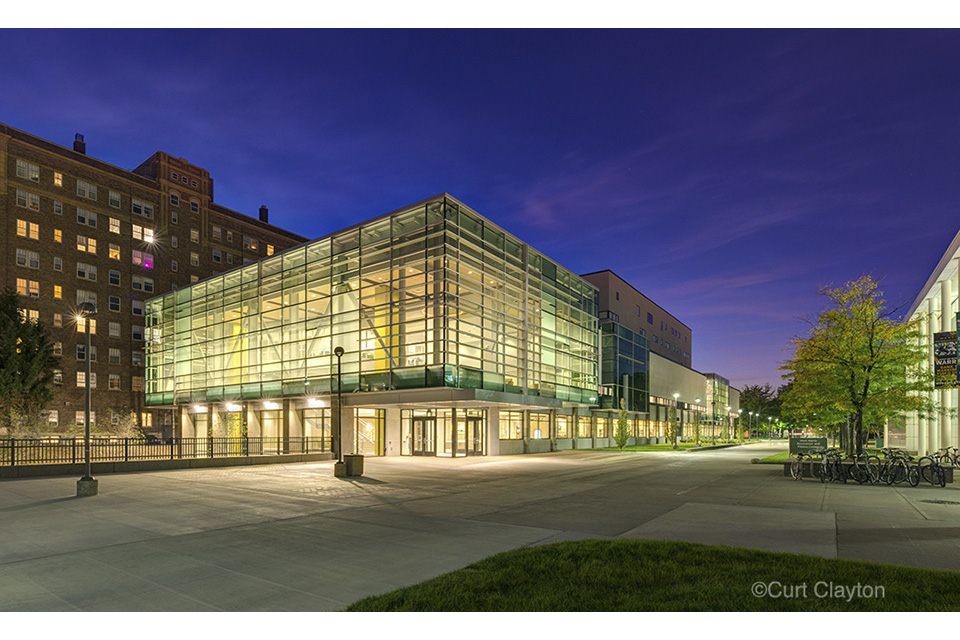 Student Center at Wayne State University