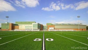 Renaissance High School football field