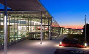 One Haworth Center sunset
