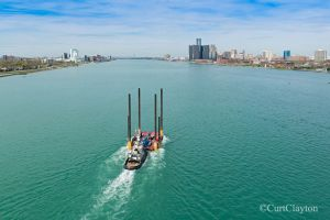 Meredith Ashton Detroit River aerial photography