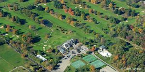 Aerial photography of Springfield Country Club