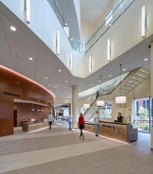 Detroit Heart Hospital lobby