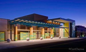 Tucson Medical Center sunrise architectural photography