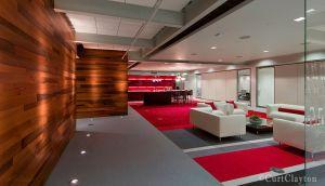 One Haworth Center lounge